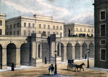 London Grand Junction Railway Station, c 1830s.