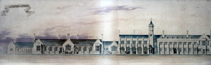 Carlisle Station, Cumbria, mid 19th century.