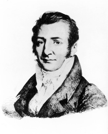 Joseph Gay-Lusac, French physicist, c 1820s.