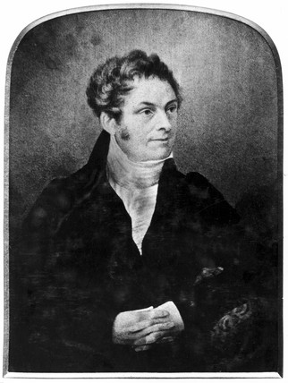 Samuel Hall, engineer and inventor, c 1820s.