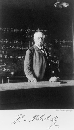 Herman von Helmholtz, German physicist, c 1880s.