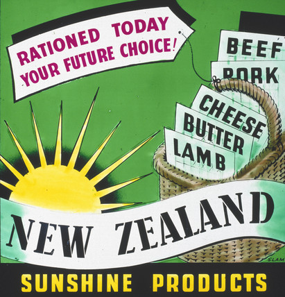 'New Zealand Sunshine Products', advertisement, c 1945-1954.