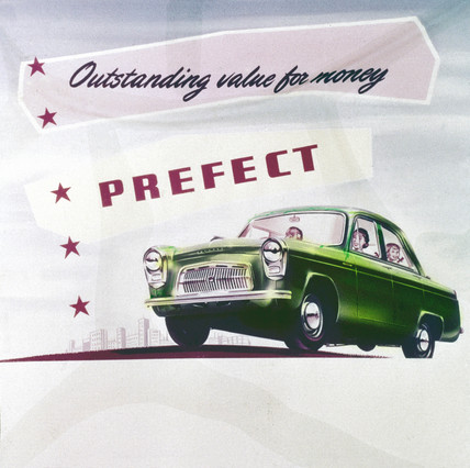 Ford Prefect, c 1950s-1960s.