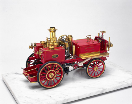 Steam fire engine, 1867.