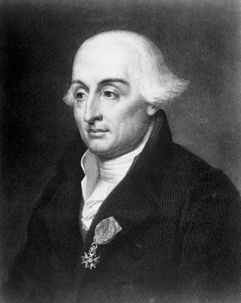 Joseph Louis Lagrange, Italian-born mathematician, c 1790.
