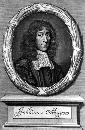 John Mayow, English physician, 1674.