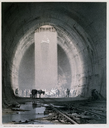 'Working shaft, Kilsby Tunnel', 8 July 1837.