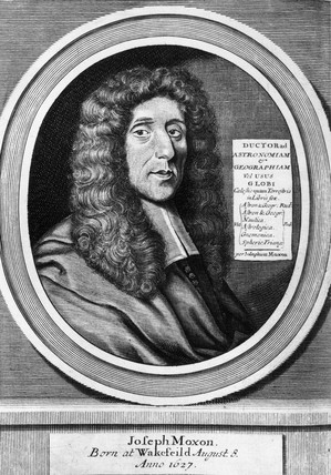 Joseph Moxon, English hydrographer and mathematician, late 18th century.