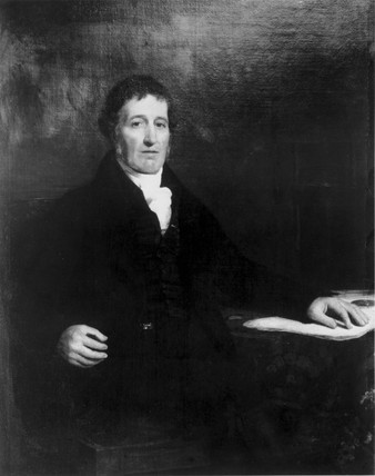 William Murdock, Scottish engineer and inventor of coal-gas lighting, c 1800.