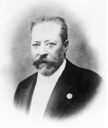 Willgodt T Odhner, Rusian inventor, c 1890.