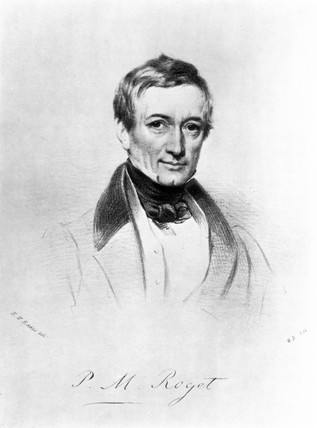 Peter Mark Roget, English physician and compiler of 'Roget's Thesaurus', c 1820.