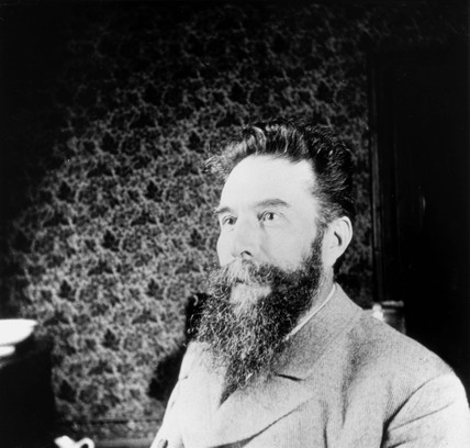 Wilhelm Conrad Roentgen, German physicist, c 1900.