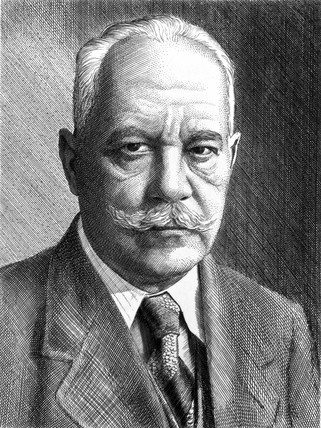 Arnold Sommerfeld, German physicist, c 1910-1920.