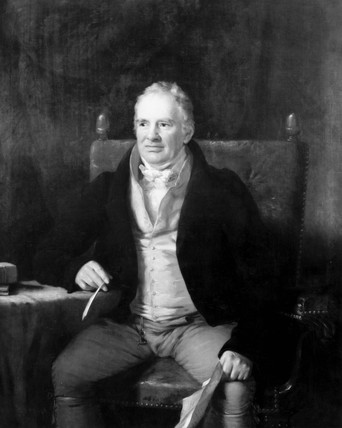William Strutt, son of Jerediah Strutt, c 1800.