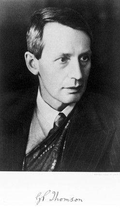 Sir George Paget Thomson, English physicist, c 1930s.