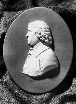 Josiah Wedgwood, English potter, 1760s.
