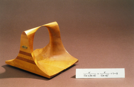 Plucker's quartic surfaces, 19th century. M