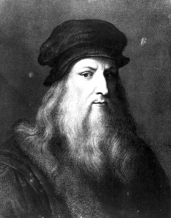 Leonardo da Vinci, Italian artist, engineer, scientist and inventor, c 1500.