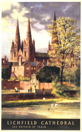 'Lichfield Cathedral', by Greene. A British