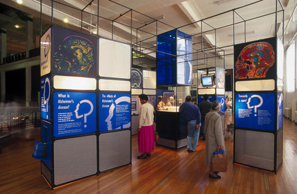 Alzheimer's disease exhibition, 1996. An