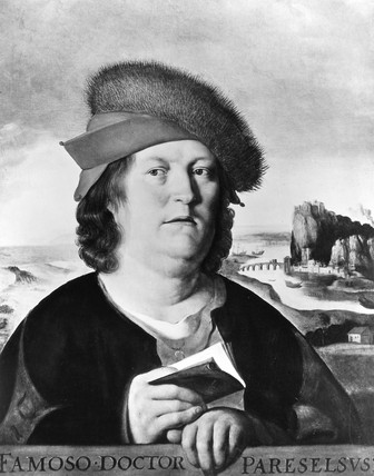Paracelsus, Swis physician and alchemist, c 1530-1539.