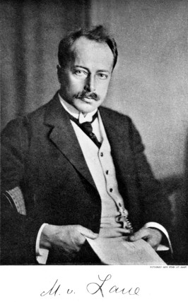 Max Theodor Felix von Laue, German physicist, c 1920s.