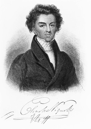 Charles Blacker Vignoles, English surveyor and civil engineer, c 1820.