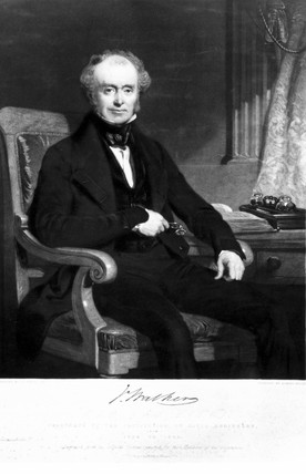 John Walker, English inventor, c 1830.