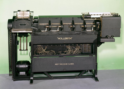 Hollerith printing and listing tabulating machine, c 1925.