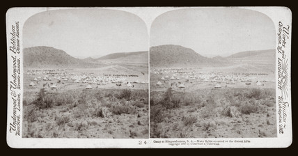 'Camp at Slingersfontein, South Africa', 1900.