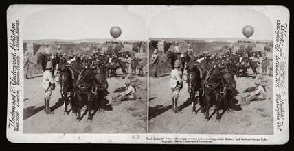 'Lord Roberts' Army advancing toward Johannesburg, South Africa', 1900.