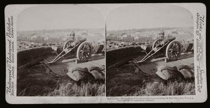 'Looking from Johannesburg Fort towards Jeppertown', South Africa, 1900.
