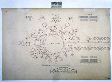 Plan of the analytical engine, 1840.