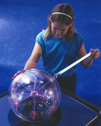 Plasma Ball interactive, Science Museum, London, 1996.