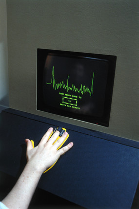 Pulse Detector interactive, Science Museum, London,  1992.