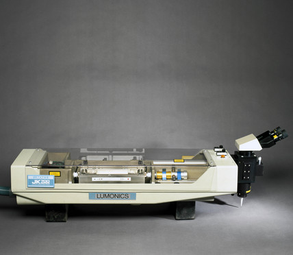 JK 700 series laser cutter, 1986-1996.