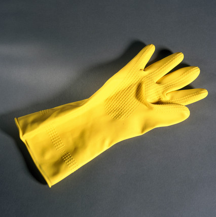 Rubber glove, 1996.