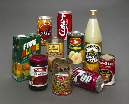 Food and drink products, 1990s.