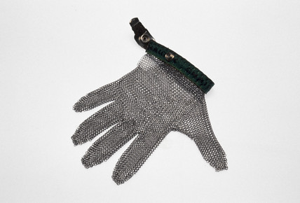 Chain mail glove, 1996.