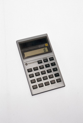 WH Smith high power solar cell calculator, c 1990s.