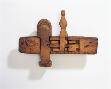 Scottish traditional wooden lock, 1740-1760.