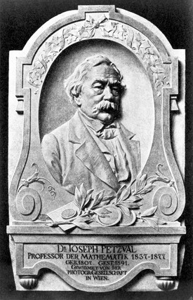 Josef Max Petzval, Hungarian mathematician, late 19th century.