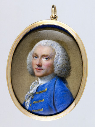 William Hunter, British anatomist and obstetrician, c 1740.