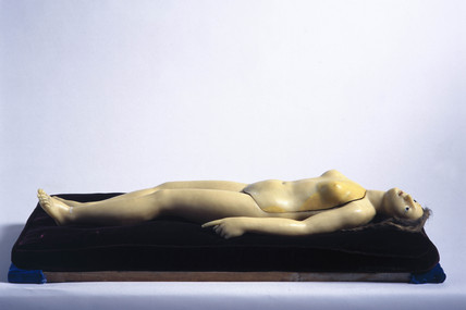 Wax anatomical figure of a reclining female, c 1771-1780.