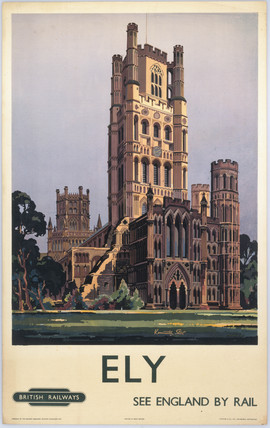 Ely Cathederal by Kenneth Steel. British Ra