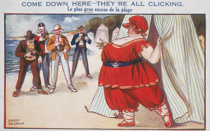 'Come Down Here - They're All Clicking', c 1910-1915.