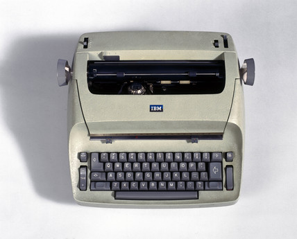 IBM 72 typewriter, c 1961.