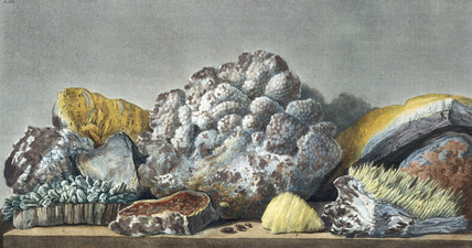 Volcanic matter from the Solfaterra, southern Italy, c 1770.