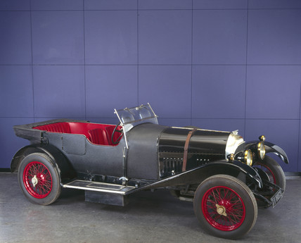 Bentley touring car, 1924.