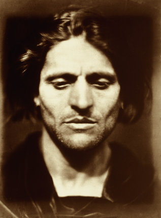 'Iago, study from an Italian' by Julia Margaret Cameron, 1867.